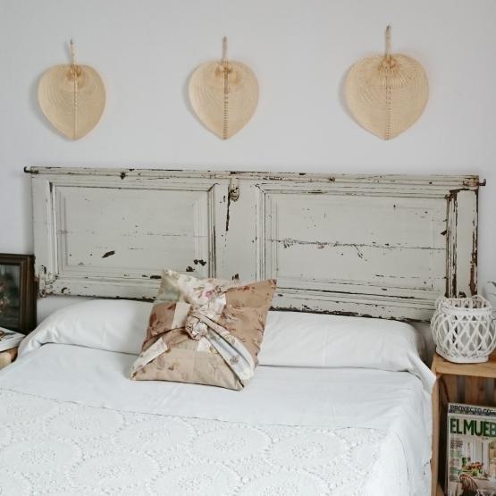 cabecero doble con puerta antigua original | Tienda online de ...