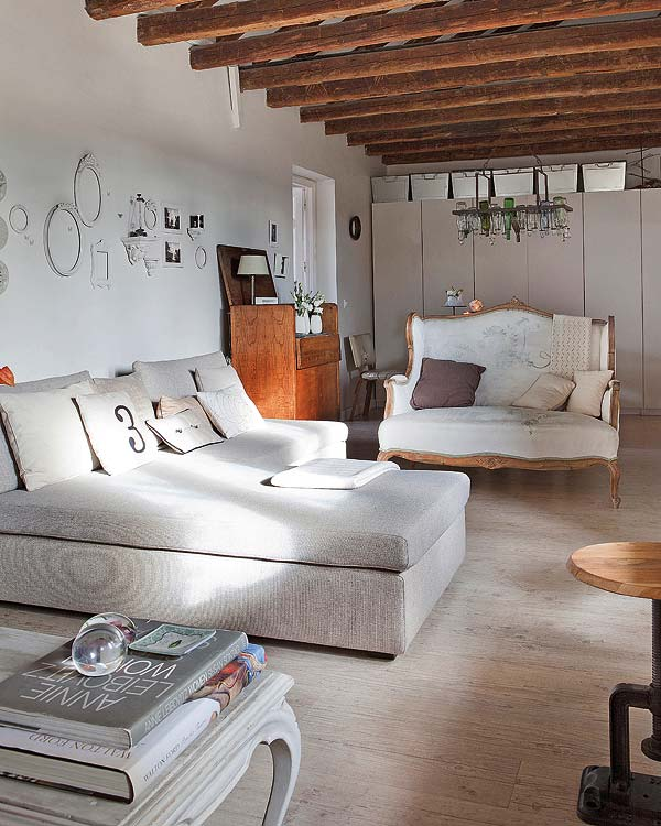 Un apartamento r stico chic en madrid tienda online de for Casas de muebles en madrid
