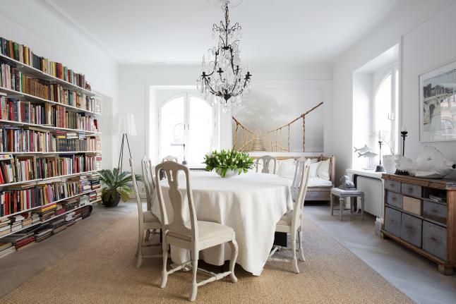 Un apartamento refinado con muebles recuperados | Tienda online de ...