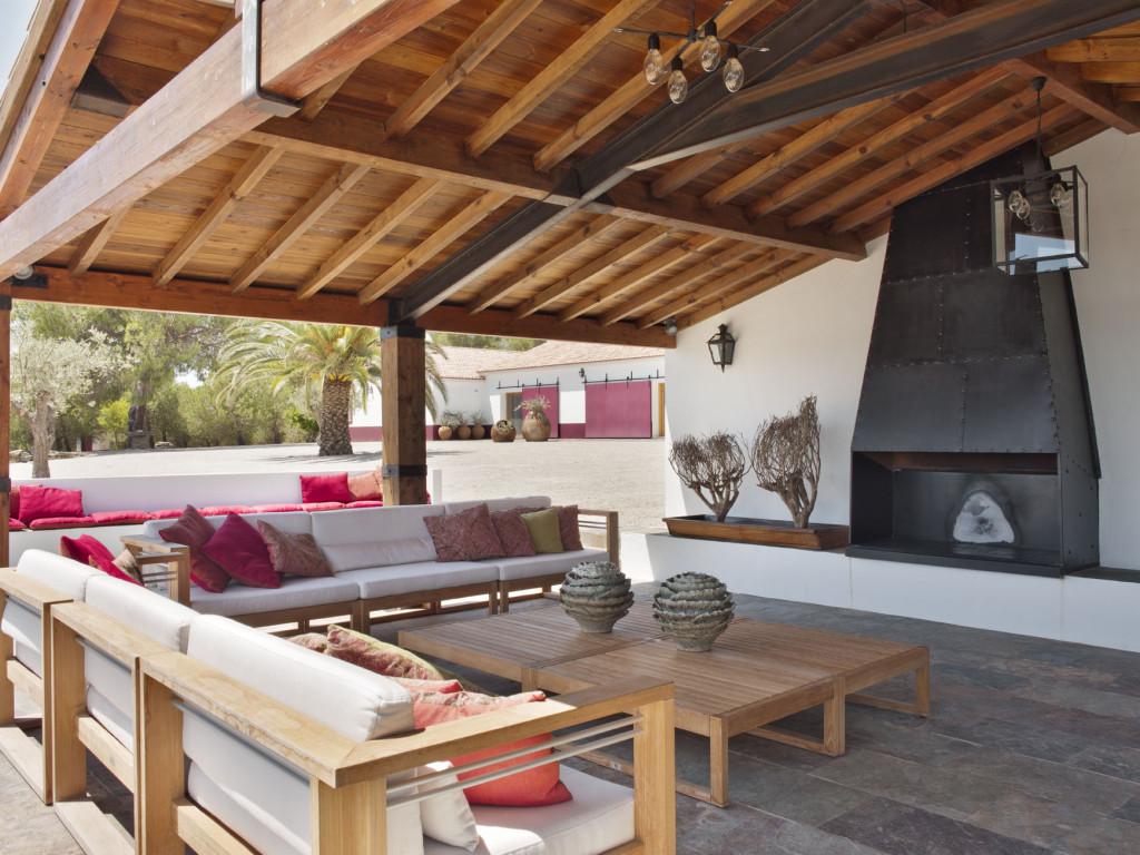 Una casa de campo en el sur de portugal tienda online de decoraci n y muebles personalizados - Decoracion casas de madera ...