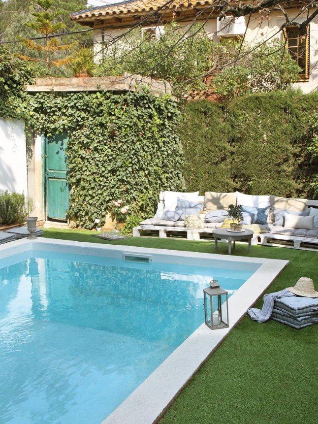 Una casa de estilo boho chic en barcelona tienda online for Casa para dos con piscina privada