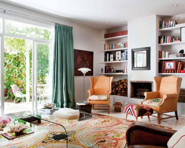Una casa en madrid llena de calma y color tienda online for Casas de muebles en madrid