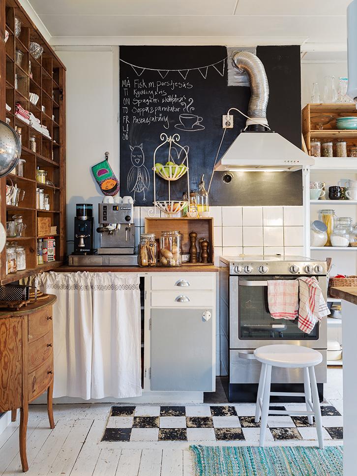 Una cocina pensada para muchos habitantes tienda online for Cocinas antiguas recicladas